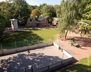 Sport- und Erlebnisdorf Hinsbeck Außenansicht