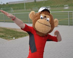 Sommer Sportcamp bei Köln Maskottchen