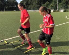 Mädchenfußball - Fußball ist auch bei Mädchen beliebt