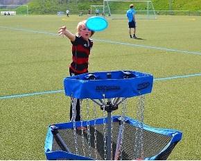 Frisbee - eine tolle abwechslungsreiche Sportart