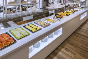 Das vielseitige Buffet im Oasis Park Splash Hotel