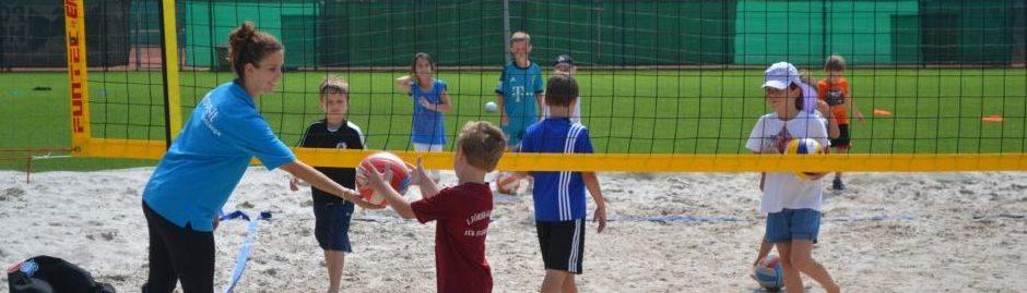 Volleyball ist ein toller Sportverein für Kinder sein