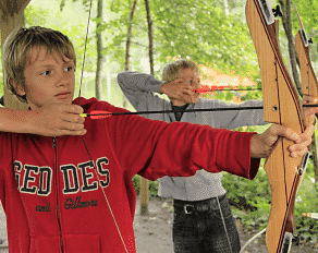 Summercamp Heino Bogenschießen