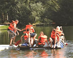 Summercamp Heino Floß