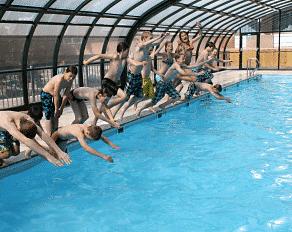 Summercamp Heino Schwimmbad