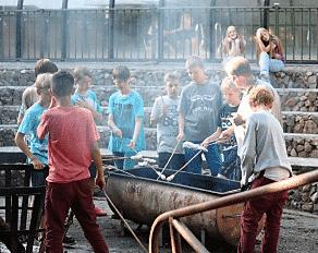 Camp Heino Stockbrot