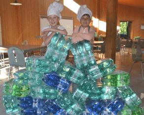 Sommer Brohltal Sixpacks Wasser