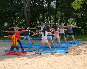 Sommer Brohltal Gymnastik Sportcamps bei Karlsruhe