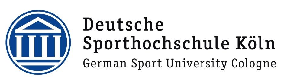 Logo Deutsche Sporthochschule Köln DSHS