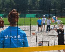 Volleyball im Tagescamp Köln