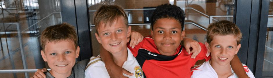 Spaß und gute Laune im Fußballcamp