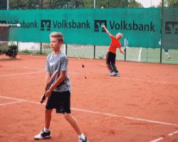 Doppel im Tenniscamp