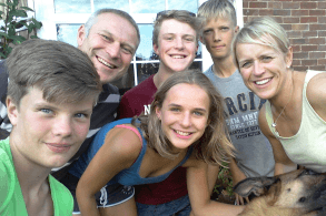 Gastfamilie in Exmouth